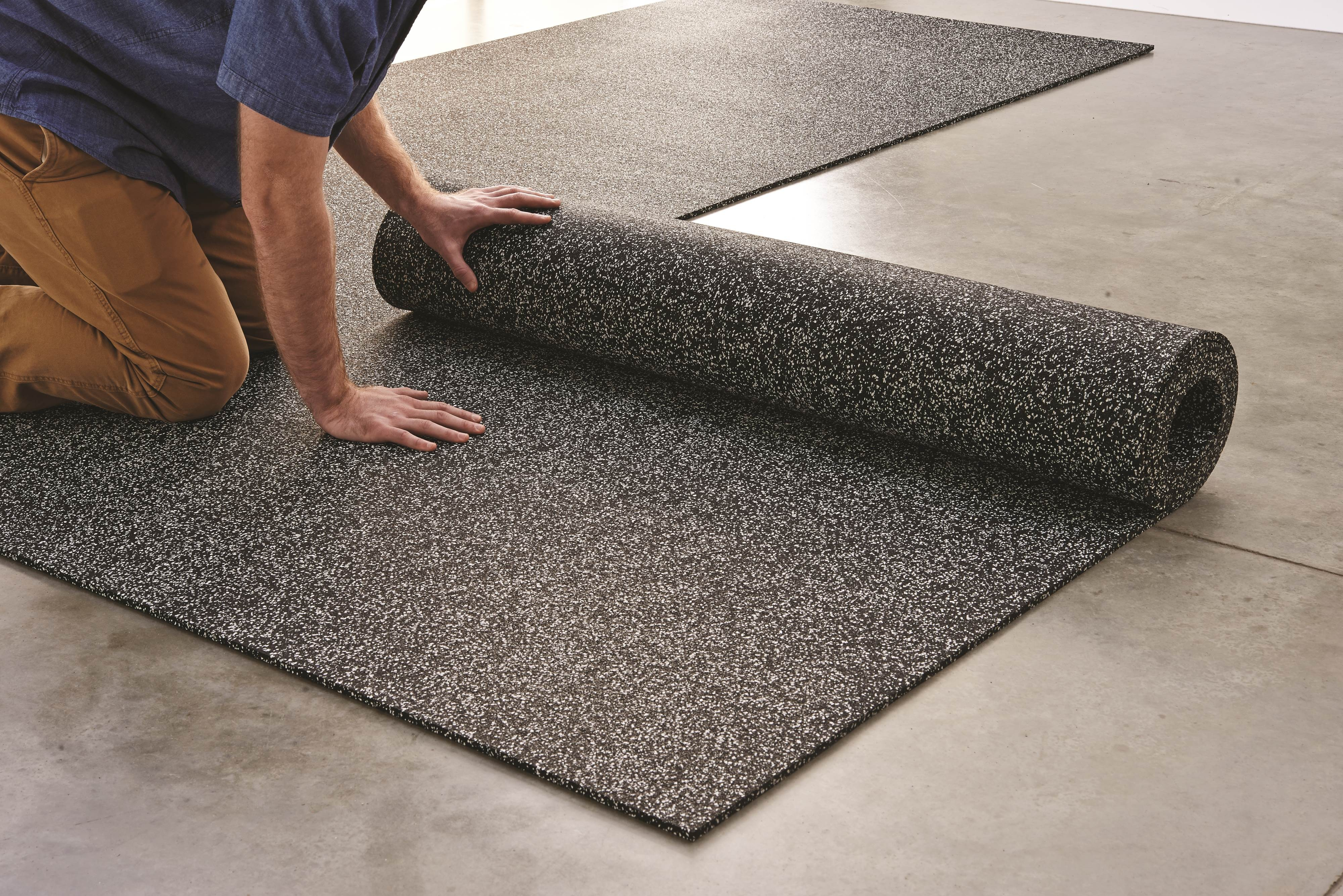 Survivor Sports Rolled Rubber Flooring