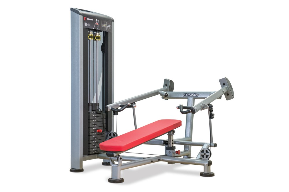 Atlantis Precision Lying Converging Chest Press