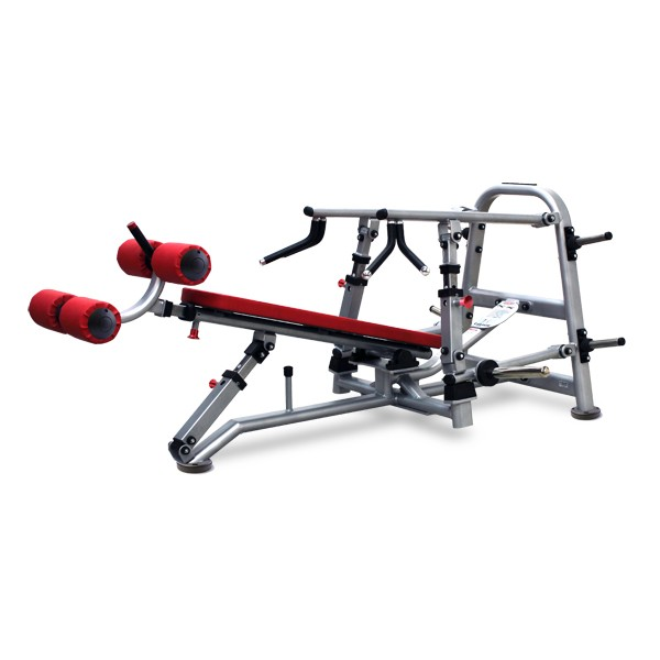 Precision Decline Converging Bench Press