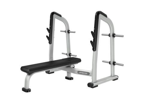 Precor Discovery Series Olympic Flat Bench