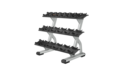 Precor Discovery Series Beauty Bell Rack