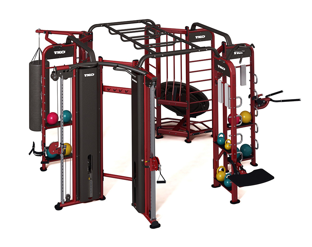 TKO - 9900 - 4 Station Functional Fitness System