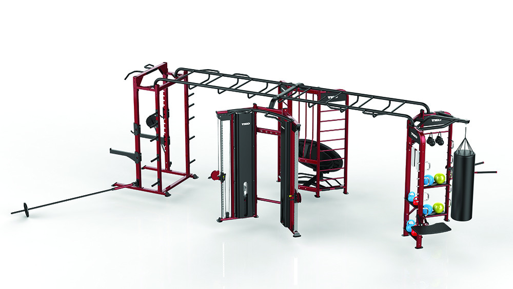 TKO - 9901 - 4 Station Functional Fitness System