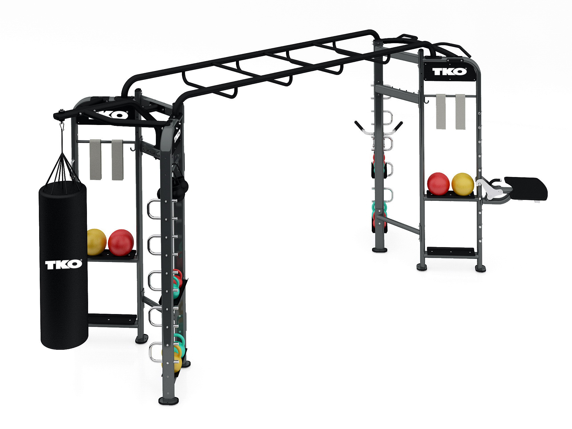 TKO - 9904 - 2 Station Functional Fitness System